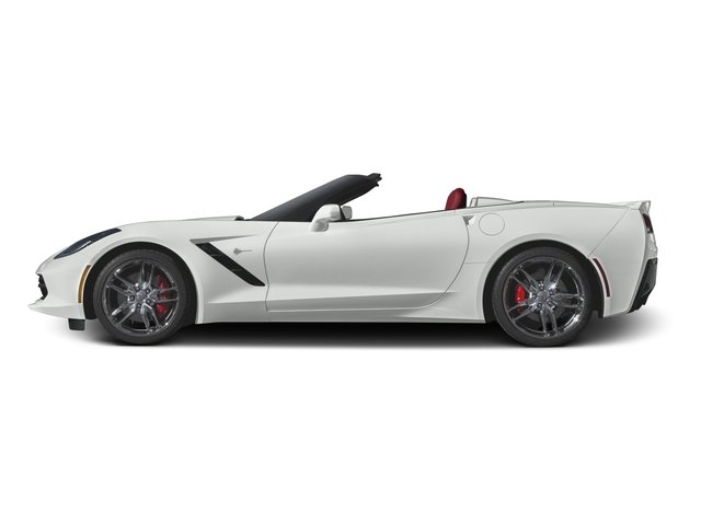 2016 Chevrolet Corvette Prices and Values Convertible 2D Z51 3LT V8 side view