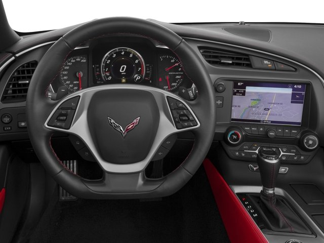 2016 Chevrolet Corvette Prices and Values Convertible 2D Z51 3LT V8 driver's dashboard