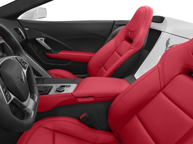 2016 Chevrolet Corvette Prices and Values Convertible 2D Z51 3LT V8 front seat interior
