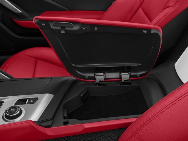 2016 Chevrolet Corvette Prices and Values Convertible 2D Z51 3LT V8 center storage console