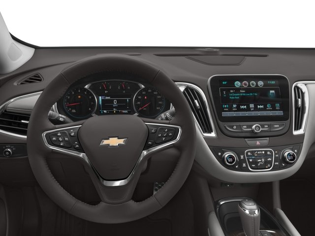 2016 Chevrolet Malibu Prices and Values Sedan 4D Premier I4 Turbo driver's dashboard