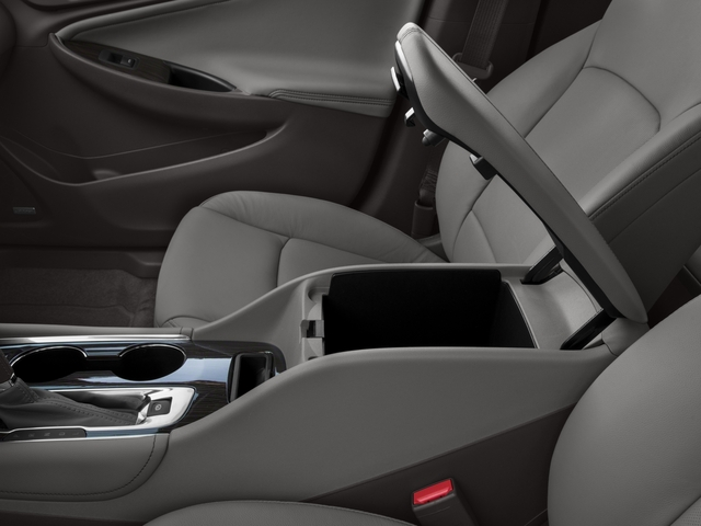 2016 Chevrolet Malibu Prices and Values Sedan 4D Premier I4 Turbo center storage console