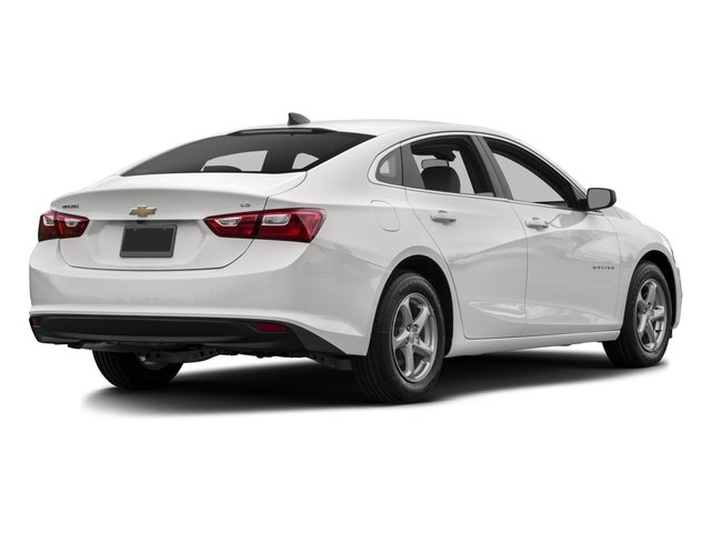 2016 Chevrolet Malibu Prices and Values Sedan 4D L I4 Turbo side rear view