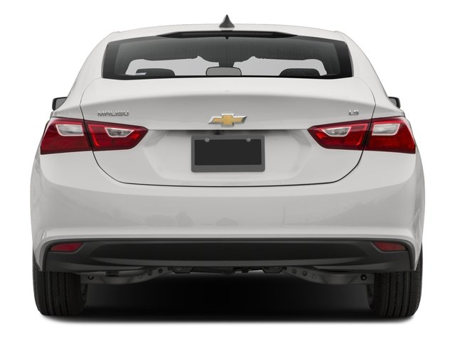 2016 Chevrolet Malibu Prices and Values Sedan 4D L I4 Turbo rear view