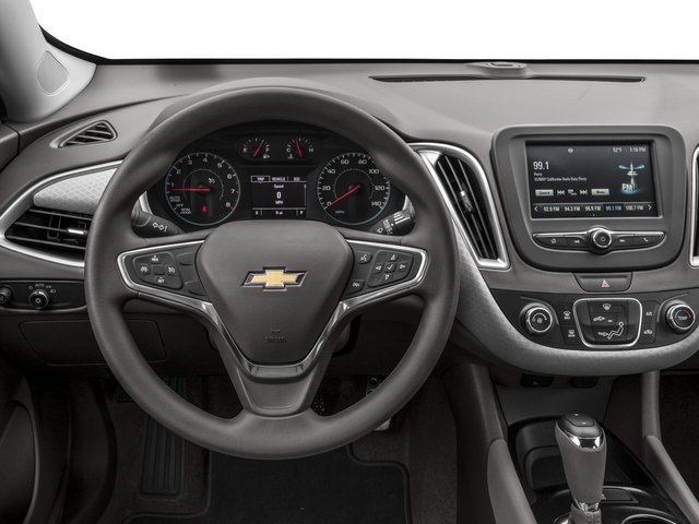2016 Chevrolet Malibu Prices and Values Sedan 4D L I4 Turbo driver's dashboard