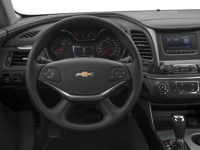 2016 Chevrolet Impala Prices and Values Sedan 4D LS I4 driver's dashboard
