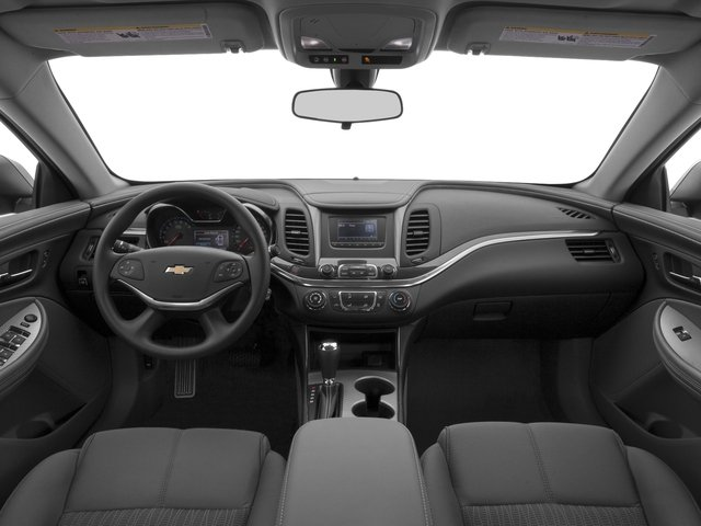 2016 Chevrolet Impala Prices and Values Sedan 4D LS I4 full dashboard