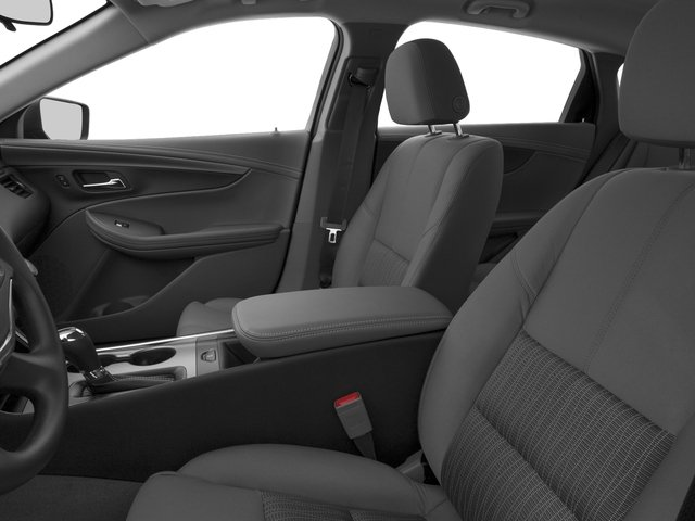 2016 Chevrolet Impala Prices and Values Sedan 4D LS I4 front seat interior