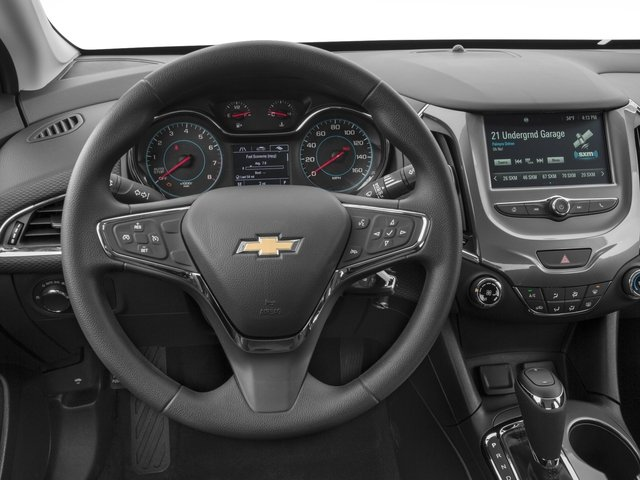 2016 Chevrolet Cruze Prices and Values Sedan 4D LT I4 Turbo driver's dashboard