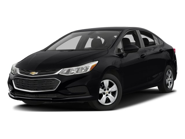 2016 Chevrolet Cruze Prices and Values Sedan 4D LS I4 side front view