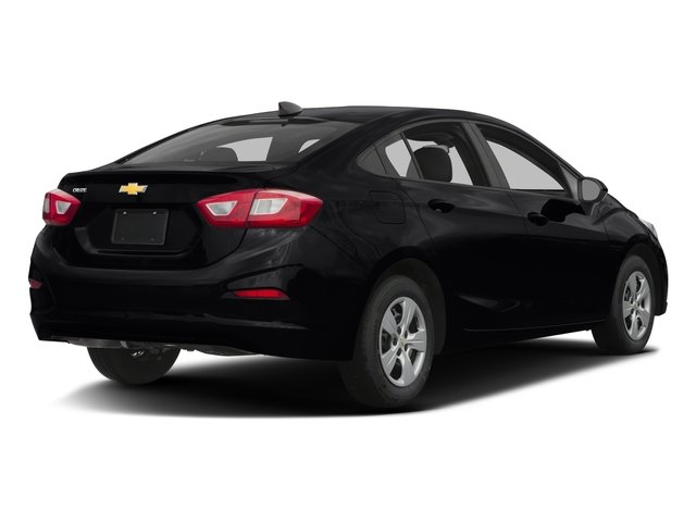2016 Chevrolet Cruze Prices and Values Sedan 4D LS I4 side rear view
