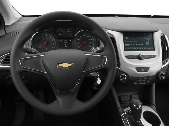 2016 Chevrolet Cruze Prices and Values Sedan 4D LS I4 driver's dashboard