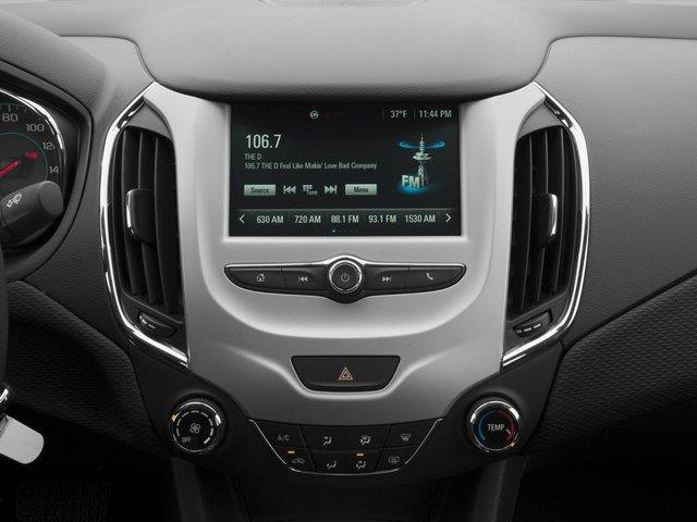 2016 Chevrolet Cruze Prices and Values Sedan 4D L I4 stereo system