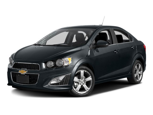 2016 Chevrolet Sonic Prices and Values Sedan 4D RS I4 side front view