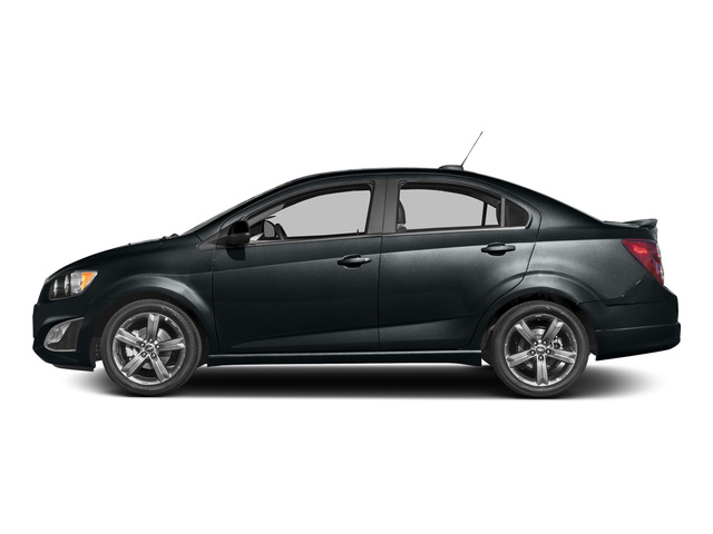2016 Chevrolet Sonic Prices and Values Sedan 4D RS I4 side view