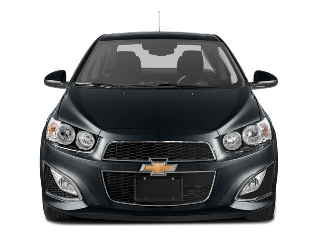 2016 Chevrolet Sonic Prices and Values Sedan 4D RS I4 front view