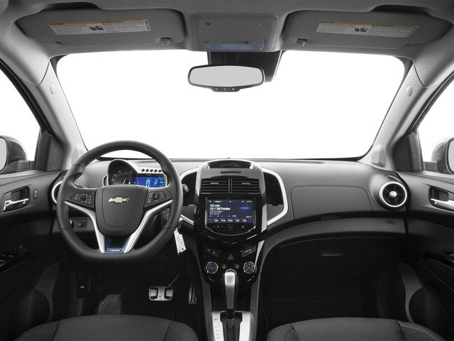 2016 Chevrolet Sonic Prices and Values Sedan 4D RS I4 full dashboard