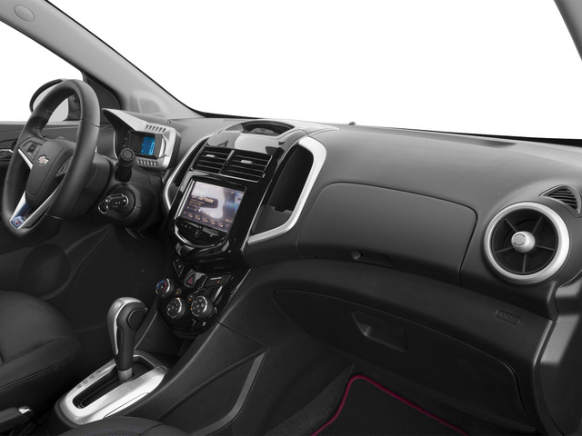 2016 Chevrolet Sonic Prices and Values Sedan 4D RS I4 passenger's dashboard