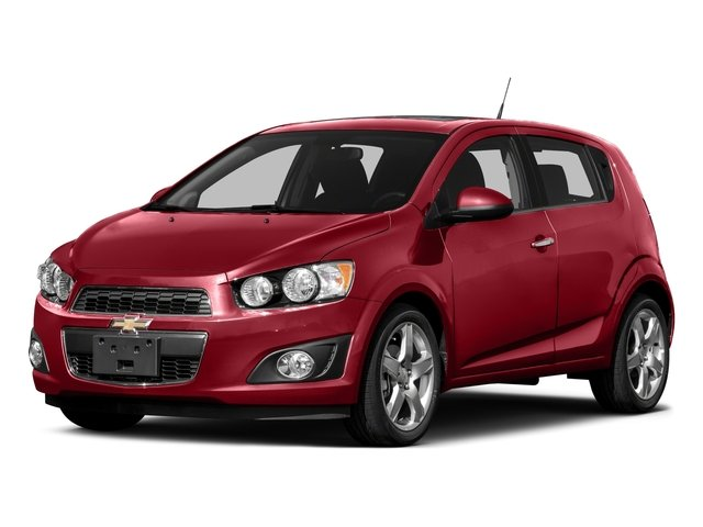 2016 Chevrolet Sonic Pictures Sonic Hatchback 5D LT I4 photos side front view