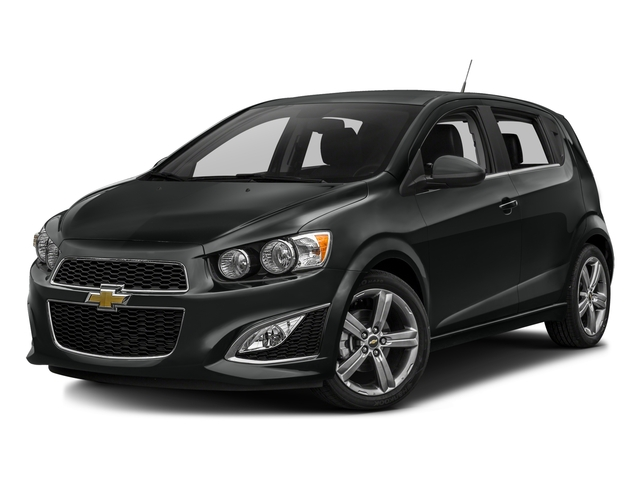 2016 Chevrolet Sonic Prices and Values Hatchback 5D RS I4 Turbo side front view