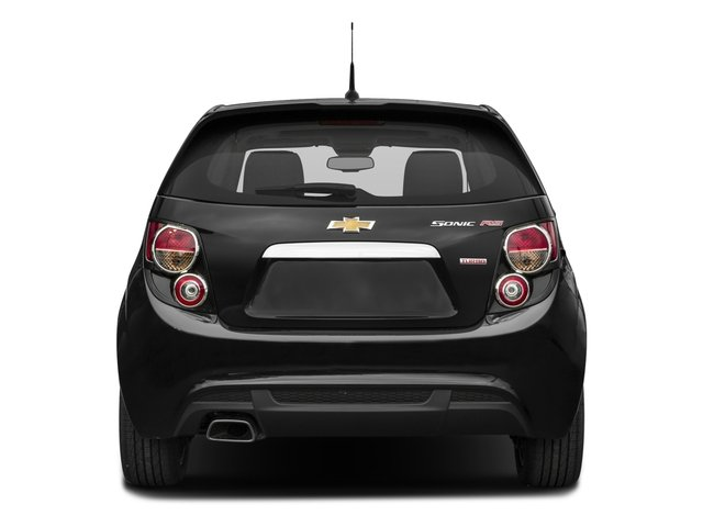 2016 Chevrolet Sonic Prices and Values Hatchback 5D RS I4 Turbo rear view