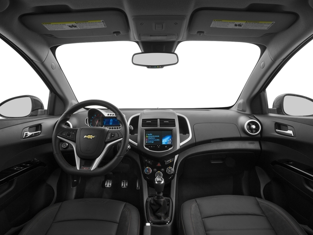 2016 Chevrolet Sonic Prices and Values Hatchback 5D RS I4 Turbo full dashboard