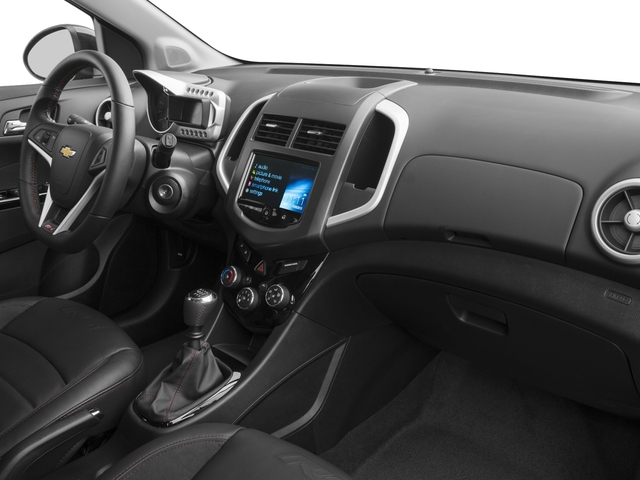 2016 Chevrolet Sonic Prices and Values Hatchback 5D RS I4 Turbo passenger's dashboard