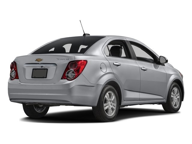 2016 Chevrolet Sonic Prices and Values Sedan 4D LT I4 side rear view