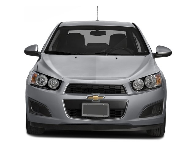 2016 Chevrolet Sonic Prices and Values Sedan 4D LT I4 front view
