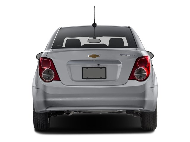 2016 Chevrolet Sonic Prices and Values Sedan 4D LT I4 rear view
