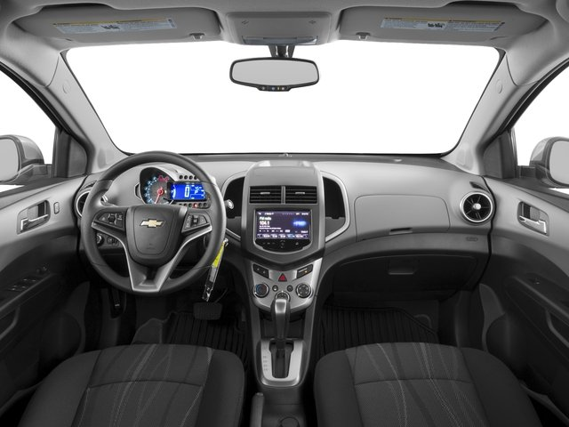 2016 Chevrolet Sonic Prices and Values Sedan 4D LS I4 full dashboard