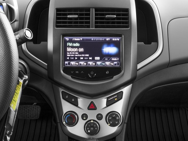 2016 Chevrolet Sonic Prices and Values Sedan 4D LT I4 stereo system