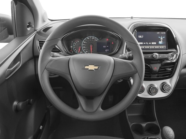 2016 Chevrolet Spark Prices and Values Hatchback 5D LS I4 driver's dashboard