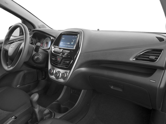 2016 Chevrolet Spark Prices and Values Hatchback 5D LS I4 passenger's dashboard
