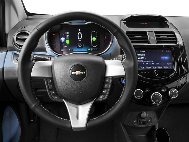 2016 Chevrolet Spark EV Prices and Values Hatchback 5D EV LT Electric driver's dashboard