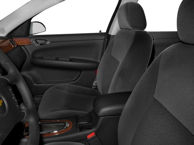 2016 Chevrolet Impala Limited Prices and Values Sedan 4D LS V6 front seat interior