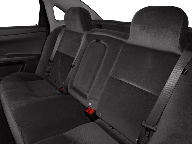 2016 Chevrolet Impala Limited Pictures Impala Limited Sedan 4D LT V6 photos backseat interior