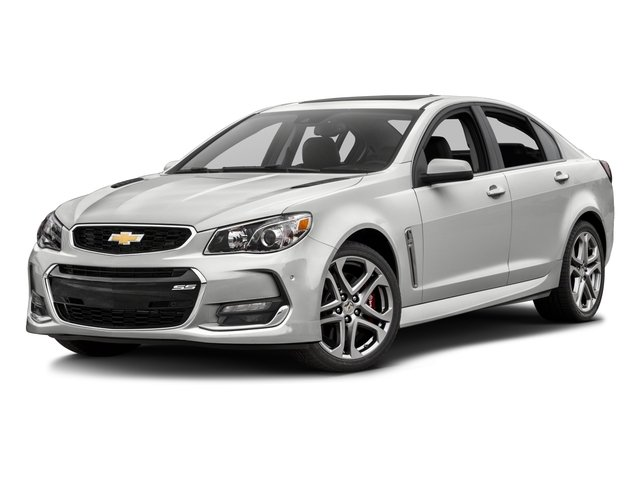 2016 Chevrolet SS Prices and Values Sedan 4D V8 side front view