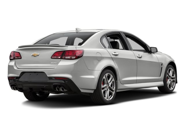 2016 Chevrolet SS Prices and Values Sedan 4D V8 side rear view