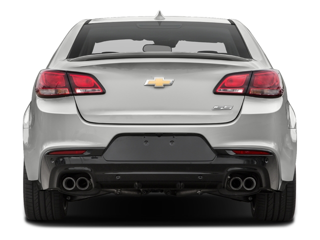 2016 Chevrolet SS Prices and Values Sedan 4D V8 rear view