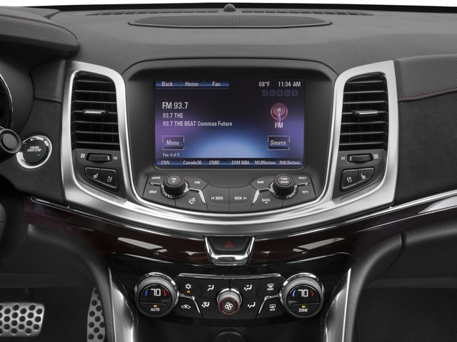 2016 Chevrolet SS Prices and Values Sedan 4D V8 stereo system