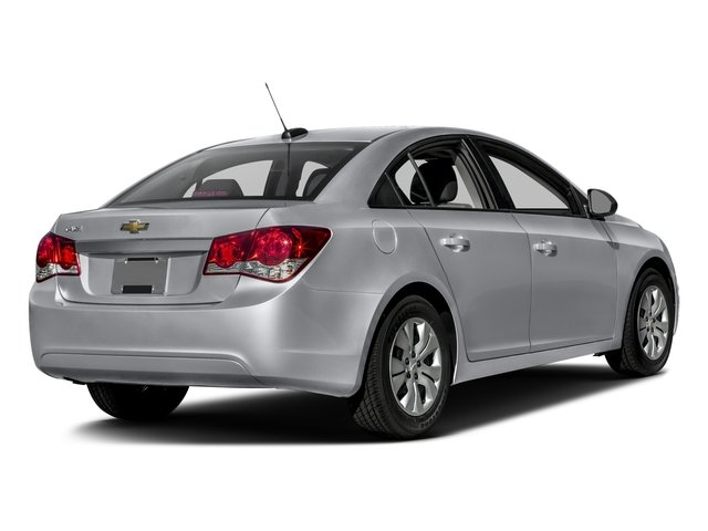 2016 Chevrolet Cruze Limited Prices and Values Sedan 4D LS I4 side rear view