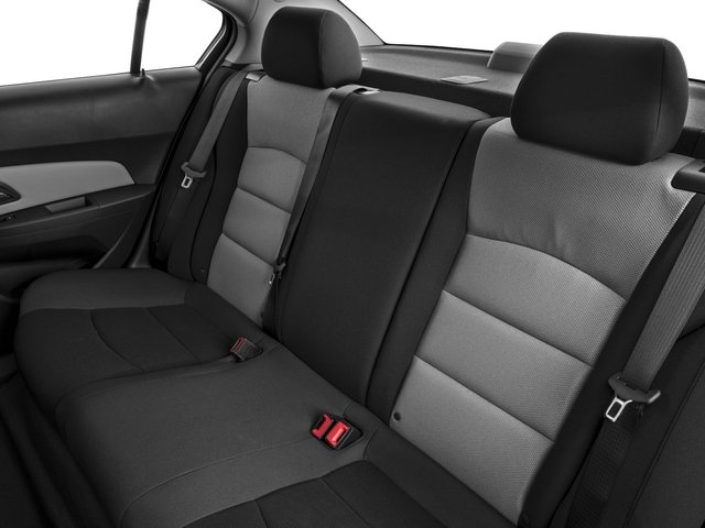 2016 Chevrolet Cruze Limited Prices and Values Sedan 4D LS I4 backseat interior