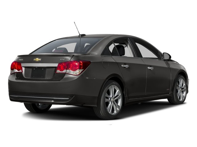 2016 Chevrolet Cruze Limited Pictures Cruze Limited Sedan 4D LTZ I4 Turbo photos side rear view
