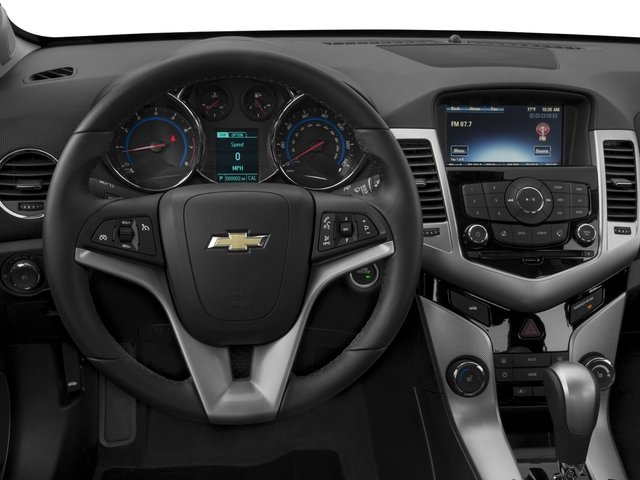 2016 Chevrolet Cruze Limited Pictures Cruze Limited Sedan 4D LTZ I4 Turbo photos driver's dashboard