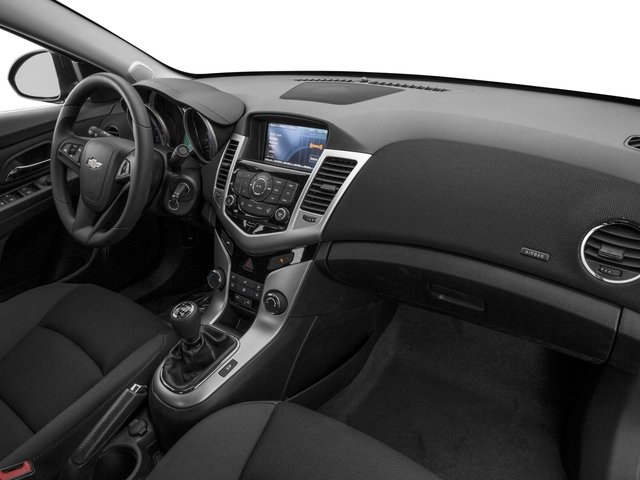 2016 Chevrolet Cruze Limited Prices and Values Sedan 4D Eco I4 Turbo passenger's dashboard