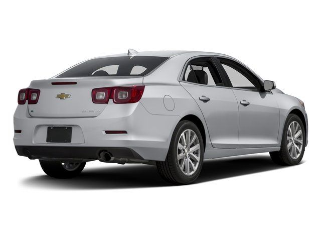 2016 Chevrolet Malibu Limited Prices And Values Sedan 4d Ltz I4 Side Rear View