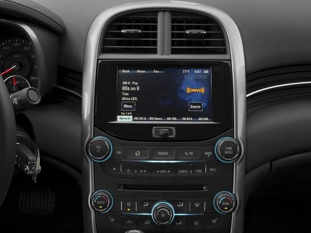 2016 Chevrolet Malibu Limited Prices and Values Sedan 4D LTZ I4 stereo system