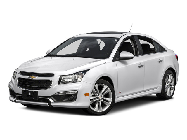 2016 Chevrolet Cruze Limited Prices and Values Sedan 4D 2LT I4 Turbo side front view