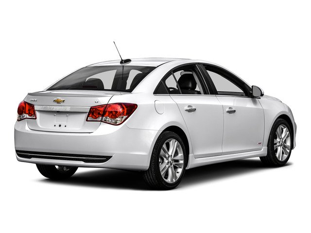 2016 Chevrolet Cruze Limited Prices and Values Sedan 4D 2LT I4 Turbo side rear view